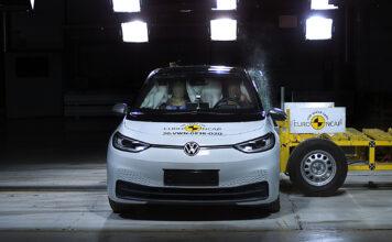 Volkswagen ID.3 er en kollisjonssikker elbil. (Fotos: Euro NCAP)