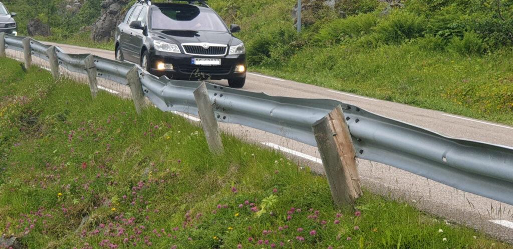 Dette er et ganske vanlig syn rundt om i Norge. (Foto: TSF)