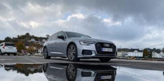 Audi A6 Avant kommer også som ladbar hybrid, og den har vi testet. (Fotos: Nybiltester)