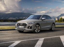Audi har på gang en SQ5 Sportback i tillegg til den kommende Q5 Sportback, og for den er det kun en TDI-motor som gjelder. (Fotos: Audi)