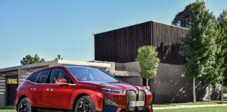 Her er den kommende BMW iX, det neste store steget i elbilsatsingen til det tyske merket. (Fotos: BMW)