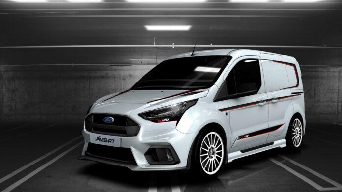 Skal det være en rallyinspirert Ford Transit? (Fotos: MS-RT)