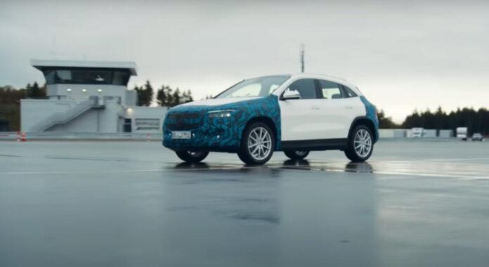 Mercedes viser oss litt mer av den kommende EQA (bildet) og EQS. (Foto: Mercedes)