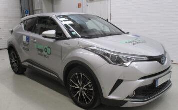 Foruten de rene elbilene oppnådde Toyota C-HR flest stjerner i den første testrunden til Green NCAP. (Fotos: Green NCAP)