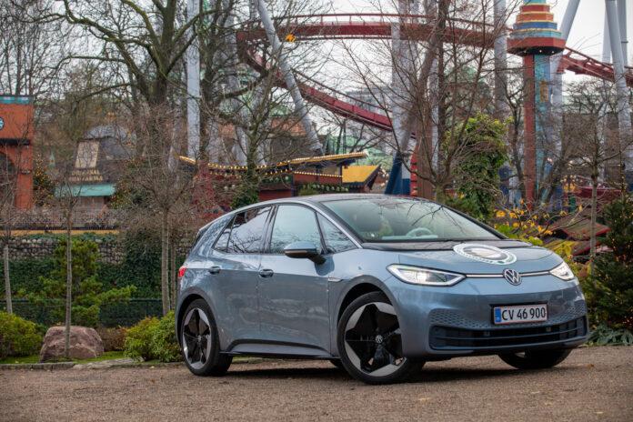 Volkswagen ID.3 er kåret til årets bil i Danmark. (Fotos: Volkswagen)