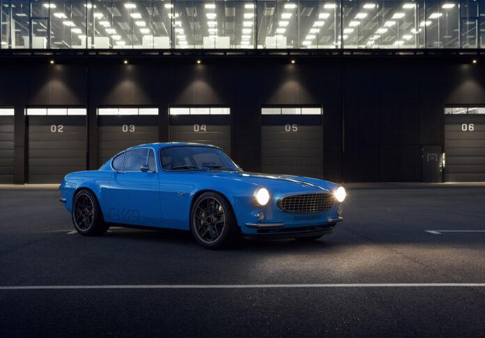 Cyan Racing har laget en ny versjon av Volvo P1800. (Fotos: Cyan Racing)