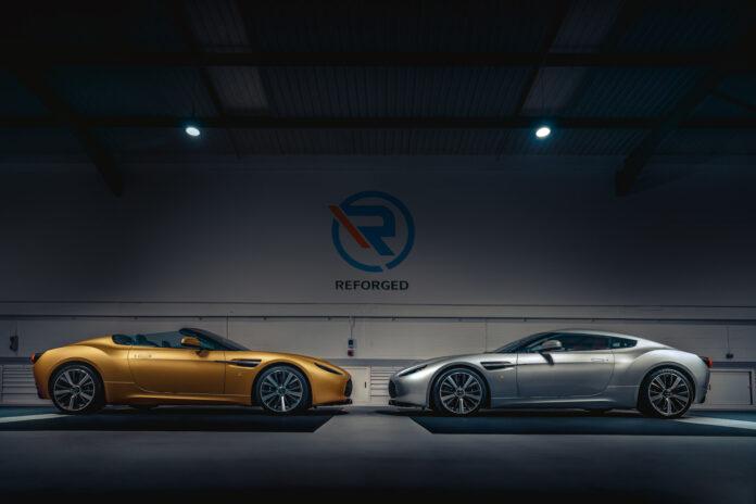 Disse tvillingene gjør alle garasjer perfekte. (Fotos: R-Reforged)