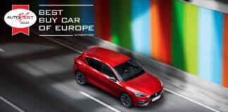 Årets beste bilkjøp i Europa er kåret, og den ble en tøff kamp mellom to modeller fra Volkswagen-gruppen. (Foto: Seat)