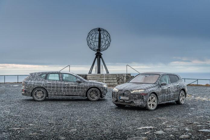 Det kommende elektriske flaggskipet til BMW har vært på et aldri så lite Norges-besøk så langt nord som det er mulig å komme på fastlandet. (Fotos: BMW)