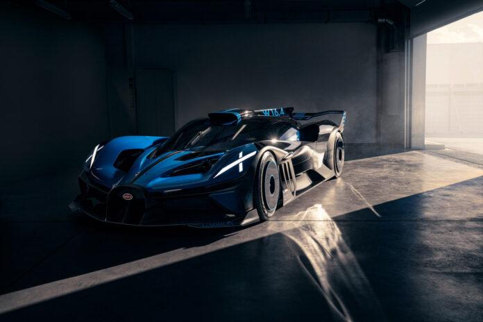 Her er kanskje tidenes aller villeste hyperbil, Bugatti Bolide. (Fotos: Bugatti)