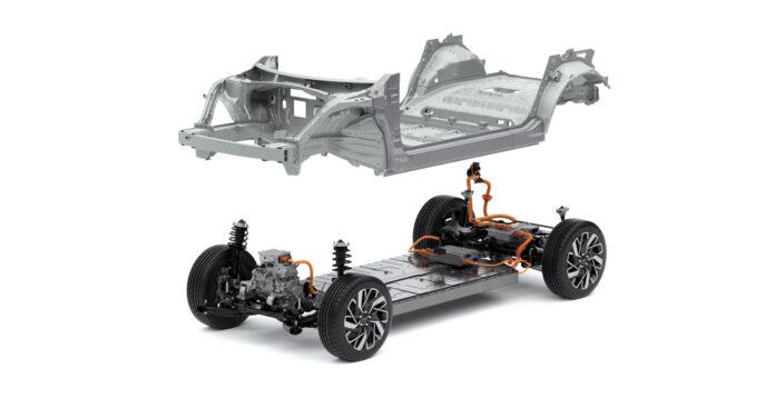 Hyundai Motor Group introduserer nå en ny plattform som morgendagens elbiler skal bygges på, E-GMP. (Fotos: Hyundai Motor Group)