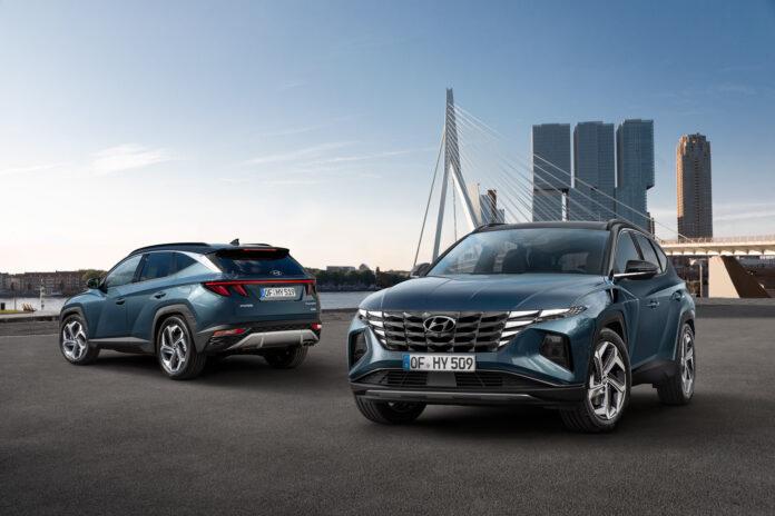 Hyundai Tucson kommer ny som ladehybrid, noe som også betyr at den finner veien til Norge. (Fotos: Hyundai)