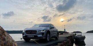 Om du er raskt er det mulig å få tak i en litt billigere versjon av Jaguar I-Pace. (Fotos: Nybiltester/SB Automotive)