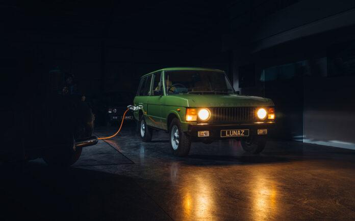 Denne klassiske Range Roveren er faktisk helelektrisk. (Fotos: Lunaz)