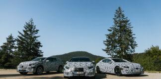 Mercedes gjør seg klar for et dusin nye elbilmodeller i løpet av knapt to år, og det inkluderer også flaggskipet EQS. (Fotos: Mercedes)