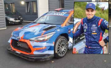 Ole Christian Veiby får endelig sjansen i en ekte WRC-bil, og det skjer intet mindre enn på den legendariske Monza-banen i Italia. (Fotos: Even Management)