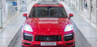 Porsche Cayenne har rundet 1 million eksemplarer i løpet av 18 år. (Fotos: Porsche)