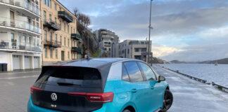 Vinterforhold spiser mye av rekkevidden til elbiler, noe den nye Volkswagen ID.3 er et godt eksempel på. (Fotos: Nybiltester)
