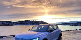 Vi har testet forbruket og rekkevidden til elbilversjonen av Volvo XC40. (Fotos: Nybiltester)