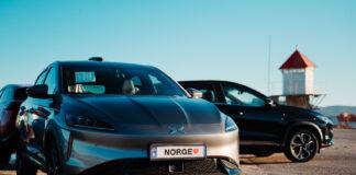 Elbilen Xpeng G3 er nå klar for norsk asfalt, og leveringene av de 100 bilene første starter i midten av måneden. (Fotos: ZEM)