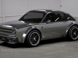 Alpha viser en ganske så sportslig og liten elbil. (Fotos: Alpha)