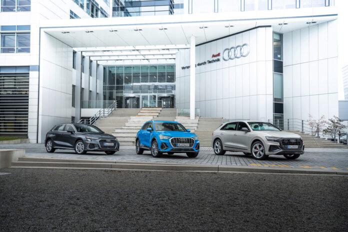 Audi nærmer seg nå et snitt under 100 g/km CO2 for sin bilpark. (Foto: Audi)