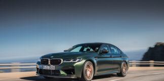 BMW har nå klar en CS-versjon av M5, og den flytter greit på seg. (Fotos: BMW)