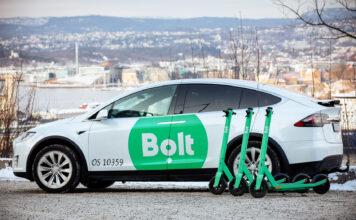 Har du vært i Oslo sentrum har du kanskje sett de grønne sparkesyklene. Nå utvider Bolt satsingen med drosjer. (Fotos: Bolt)