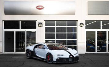 Bugatti har nå levert den første av i alt 60 eksemplarer av Chiron Pur Sport. (Fotos: Bugatti)