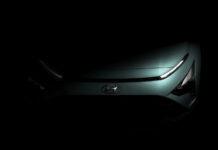 Her er et glimt av Hyundais nye kompakte SUV kalt Bayton. (Fotos: Hyundai)