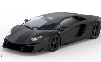 Dette er en meget spesiell Lamborghini Aventador. (Fotos: Huber)