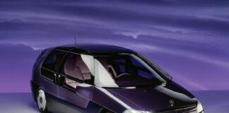 I januar 1991 viste Mercedes fra en forskningsbil som var svært så imponerende. (Fotos: Mercedes)