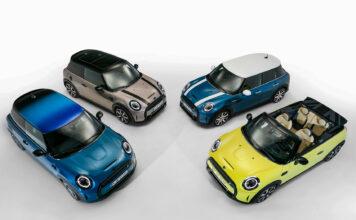 Mini kjører på videre, og har nå oppgradert standardversjonene sine litt. (Fotos: Mini)