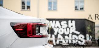 Polestar lanserer ny en ny digital og koronavennlig prosess rundt innbyttebilen. (Fotos: Polestar)