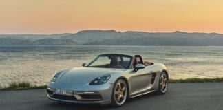 Porsche har klar en spesialversjon som skal hylle den originale Boxster som kom for 25 år siden. (Fotos: Porsche)