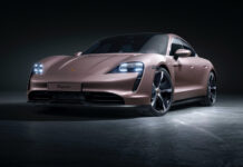 Porsche kommer nå med en billigere versjon av Taycan. (Fotos: Porsche)