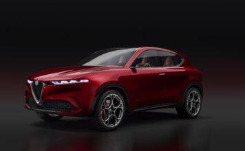 Britene har stemt på sin favorittbil i 2021, og den soleklare vinneren ble Alfa Romeo Tonale. (Fotos: Alfa Romeo)