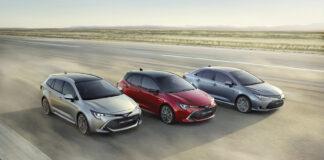 Toyota dro fra resten av bilverden i 2020 når det kommer til det rene bilsalget. (Fotos: Toyota)