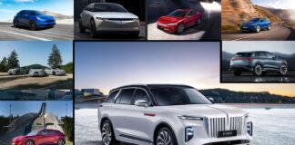 Her er 12 av de mange elbilene som er ventet på markedet i 2021. (Montasje: Bil24)