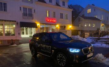 BMW iX3 er en elektrisk versjon av X3, og det er ikke dumt! (Fotos: Nybiltester)
