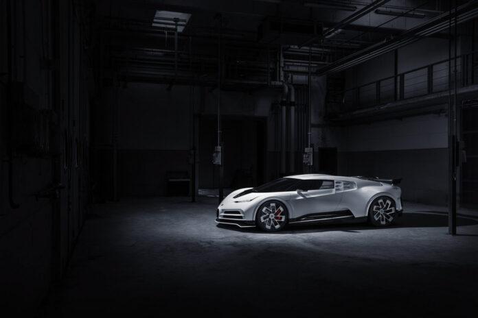 Bugatti skal lage 10 eksemplarer av bilen som hyller den første hyperbilen i verden, Bugatti EB 110. (Fotos: Bugatti)