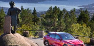 Mange venter på den første elbilmodellen fra Ford, og nå er Mustang Mach-E kun uker unna levering. (Fotos: Ford Norge)