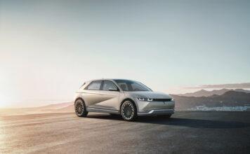 Endelig har Hyundai vist fram Ioniq 5, den første av flere helelektriske Ioniq-modeller som er planlagt. (Fotos: Hyundai)