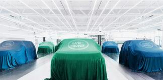 Land Rover skal komme med seks helelektriske modeller i løpet av de neste fem årene. (Fotos: JLR)