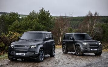 Land Rover byr nå på en utgave med V8 som kan skilte med 525 hk. (Fotos: Jaguar Land Rover)