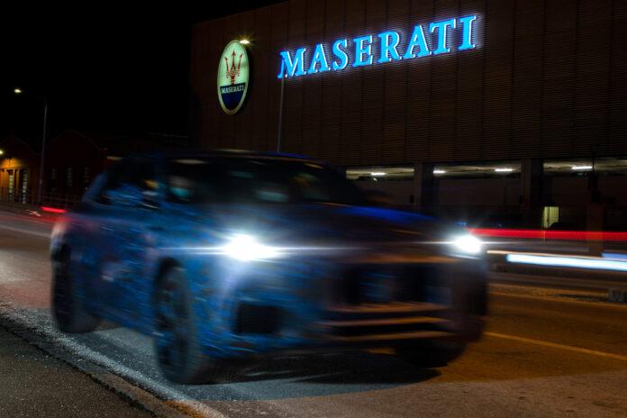 Maseratis ansatte har avslørt den kommende SUV-modellen Grecale på sosiale medier. (Fotos: Maserati)