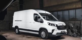 Det er snart klart for en ny modell fra Maxus, og denne gang handler det om de store varebilene. (Fotos: Maxus)