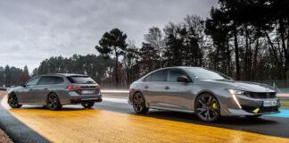 Dette er den nye kongen hos merket med løvelogoen, Peugeot 508 Peugeot Sport Engineered. (Fotos: Peugeot)