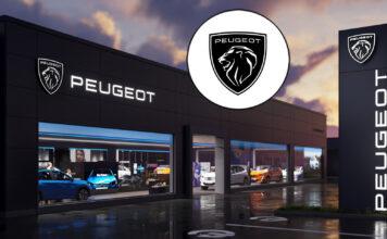 Peugeot har oppdatert logoen sin, og selvsagt er fortsatt løven på plass. (Fotos: Peugeot)