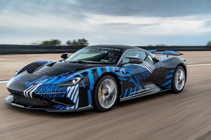 Pininfarina Battista blir en sjukt raskt elektriske hyperbil, og den nærmer seg nå produksjon. (Fotos: Pininfarina)